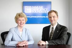 PIDD Awareness ~ Marcie Boyle and John Boyle talk about PIDD and IDF