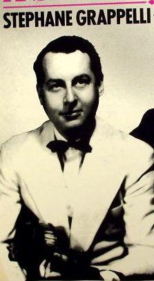 Stephane Grappelli,,,born 1/26