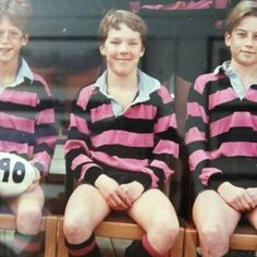 STAHP. So adorable. In his pink rugby shirt. | 31 Reasons We're Addicted To Benedict Cumberbatch