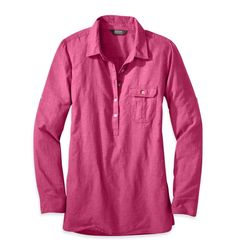 Hemp and cotton women's shirt that comes with a lifetime guarantee!