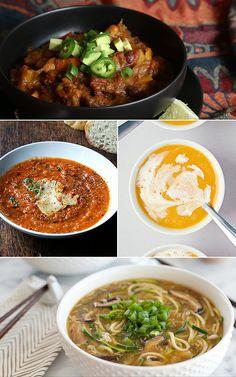 13 Vegetarian Soups