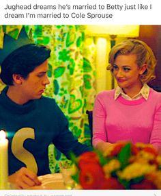 #Riverdale #Jughead #Betty
