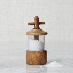 Olive Wood Salt Mill   west elm    #modernthanksgiving