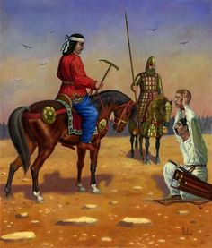 """""""After the battle of Carrhae, 53 BCE"""", Dariusz Bufnal. The Battle of Carrhae was fought in 53 BCE between the Roman Republic and the Parthian Empire near the town of Carrhae. The Parthian Spahbod (""""General"""") Surena the Iranian decisively defeated a numerically superior Roman invasion force under the command of Marcus Licinius Crassus. It is commonly seen as one of the earliest and most important battles between the Roman and Parthian empires and one of the most crushing defeats in Roman…"""