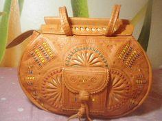 Messenger leather bag womens handbagMoroccan por BISOUXBISUTERIA