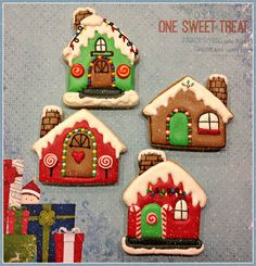 135 Best Gingerbread House Cookies Images In 2019 Cookies
