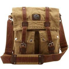 #USF canvas messenger bag. Remove the emblem and I'll wear it