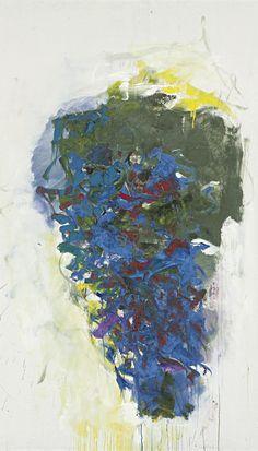 Joan Mitchell (1926 - 1992) Beaujolais 1966 (193 by 114,3 cm)