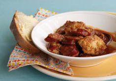 Anjum Anand's goan chicken and chorizo stew