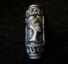 Dread Bead  Silver Nefertiti  You Choose Hole by LuvingYourLocks :: Shop…