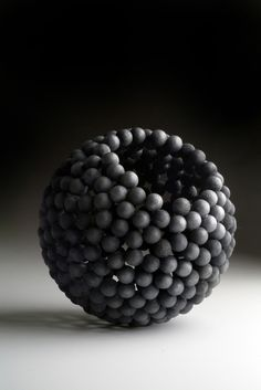 David Huycke example for using wooden beads or balls to make bowls or vessels