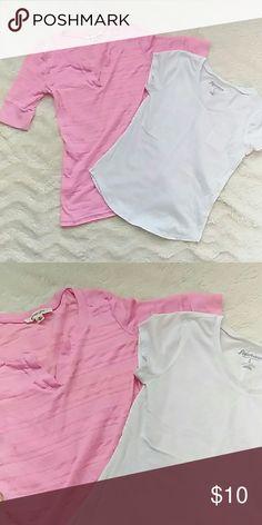 Girls top bundle Gently used tops, selling as a pair Energie Shirts & Tops Tees - Short Sleeve