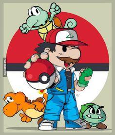 Pokémon, Mario style!