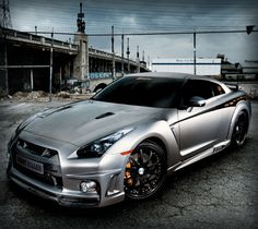 Nissan Gtr.... I can see my self getting my first speeding ticket and this! And I'd probably be ok with it!