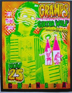 The Cramps, Guitar Wolf