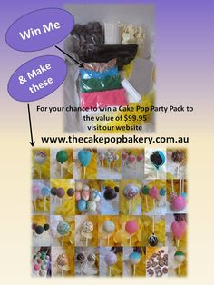 Enter our competition to win www.thecakepopbakery.com.au