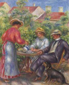 Pierre-Auguste Renoir (1841-1919)La tasse de thé ou Le jardin