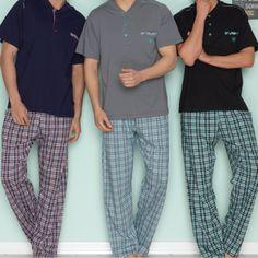 Erkek Kısa Kol Pijama...  S, M, L, XL, XXL Bedenlerinde,  Lacivert, Füme, Siyah Renklerinde,  %100 Pamuklu Pijamalar üyelere özel %35 indirimle satışa sunuluyor. http://bambyke.com/Erkek-Kisa-Kol-Pijama-Fume,PR-801.html