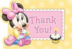 🌼Thank You #MinnieMouse🌸