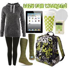 Lazy Fall Weekend