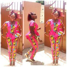 womens cropped trousers african ~African fashion, Ankara, kitenge, African women dresses, African prints, Braids, Nigerian wedding, Ghanaian fashion, African wedding ~DKK