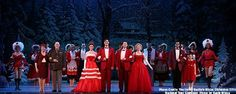 Get in the holiday spirit with Irving Berlin's White Christmas!
