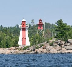 Byng Inlet Range Front Lighthouse, Ontario Canada at Lighthousefriends.com