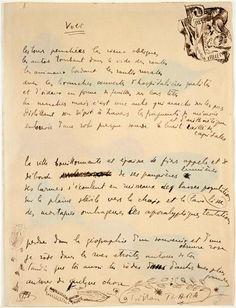Volt, Poeme et croquis, 1915 - Tristan Tzara