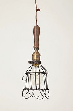 industrial styled light