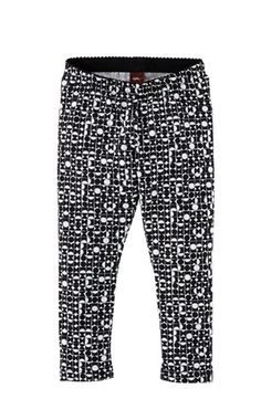 These bold leggings are inspired by artwork we saw at the Bauhaus Archive Museum in Berlin.