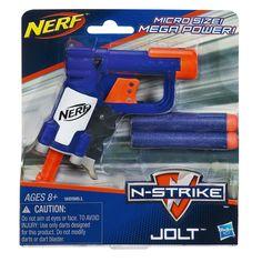Amazon.com: Nerf N-Strike Jolt Blaster (blue): Toys & Games