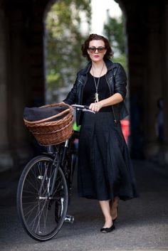 Badass with a bike