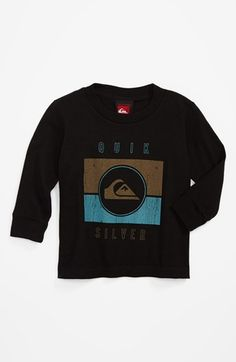 Quiksilver 'Sanction' Long Sleeve T-Shirt (Baby Boys) available at #Nordstrom