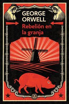 """En 1945, George Orwell, que pasaría a la historia por su excelente libro 1984, publicaba su segunda obra más reconocida: """"Rebelión en la granja"""". Por aquel entonces, nadie se podía imaginar que una fábula sobre unos animales que toman el poder de su propia granja sería una sátira aguda sobre el régimen zarista, la Revolución Rusa y el estalinismo, y de cómo el régimen de Stalin corrompe el socialismo. Un Book, Book Writer, Love Book, Book Art, George Orwell, 7 Arts, Ebooks Pdf, South American Art, Isaac Asimov"""