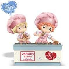 "Inspired by the tv series ""I Love Lucy"" this is the figurine called Together We Can Handle Anything."