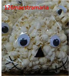 Lavoretto per Halloween Fantasma https://126maestramaria.wordpress.com/