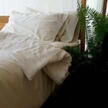 ORGANIC BEDDING - A natural latex mattress provides your neck, shoulders, hips and knees with superior support because you sleep in the mattress rather than on top of it. You'll toss and turn less frequently and sleep more peacefully, allowing your body's immune system to rejuvenate for the next day's activities. - http://www.ecomall.com/greenshopping/cleanbedroom.htm
