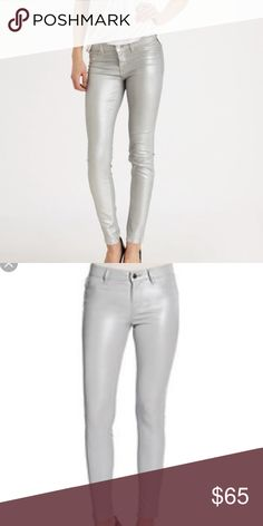 J Brand 901 Stonehenge Silver Jeans Stunning J.Brand jeans coated with a subtle silver. 901 ...
