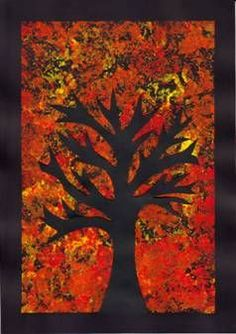 Strom – otisk alobalu Autumn Crafts, Autumn Art, Autumn Activities, Art Activities, Fall Crafts For Toddlers, September Crafts, Class Art Projects, Leaf Drawing, Watercolor Projects
