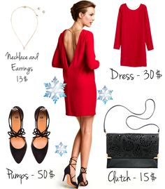 Выбираем платье на Новый 2016 Год Christmas outfit: dress, shoes, accessories