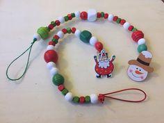 #christmas #santa #reindeer #angel #dummyclip #pacifierclip #dammydummyclips #snowman