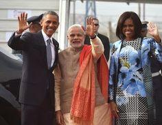 #ObamaInIndia -