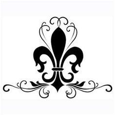 0 images about fleur de lis on rustic art clip clipart Tatoo 3d, I Tattoo, Clipart, Tattoo Fleur, French Typography, Fleur Design, Paisley Design, Paisley Pattern, Boy Scouting