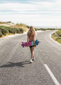 Brunotti all board Sports 16 campaign women available at www.brunotti.com/... #GetonBoard - Sup Big Bastard / bikini / beachwear / sup active / fitness / longboards