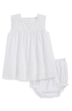 Burberry Stripe Dress & Bloomers (Baby Girls) available at #Nordstrom