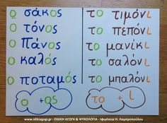 Greek Language, Special Needs Kids, Home Schooling, Special Education, Grammar, Spelling, Teacher, Writing, Learning