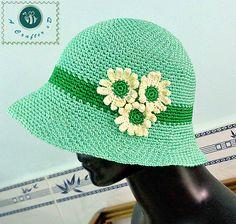 Daisy's Clothe Hat pattern by Maz Kwok