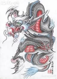 The Dragon Tattoo Art Book Traditional Chinese Painting Tattoo Flashes Pro Dragon Tattoo Flash, Dragon Tattoo Art, Dragon Sleeve Tattoos, Japanese Dragon Tattoos, Dragon Artwork, Dragon Tattoo Designs, Japanese Tattoo Art, Chinese Tattoo Designs, Japan Tattoo Design