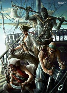 Crew of the Flying Dutchman