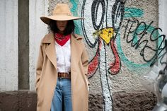 Photo 13 from Yoyo Cao cowgirl look Yoyo Cao, Nyfw Style, Cowgirl Look, Denim Trends, Vintage Skirt, Fashion Pants, Paris Fashion, Nice Dresses, Street Style